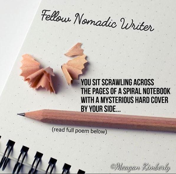fellow nomadic poem blog