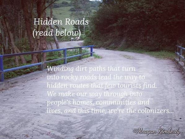 hidden roads blog poetry
