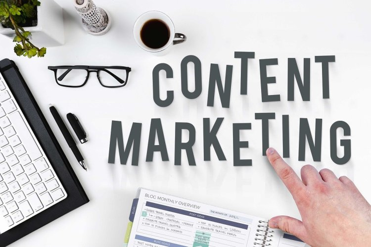 Content Marketing visual